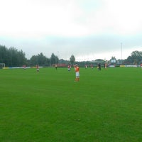 Photo taken at Voetbalvereniging DVV by Ronald v. on 9/13/2014
