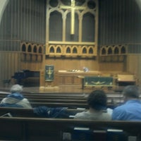 Photo taken at Second Congregational Church of Christ by Charles L. on 10/20/2012