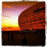 Photo taken at Allianz Arena by Haico M. on 9/6/2013