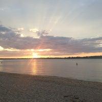Photo taken at Sunset Beach by Ashu R. on 8/23/2013