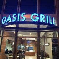 Photo taken at Oasis Grill by Najji A. on 7/27/2015