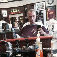 Photo taken at V's Barbershop by Bob W. on 8/27/2014