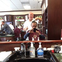 Photo taken at V's Barbershop by Bob W. on 10/10/2012
