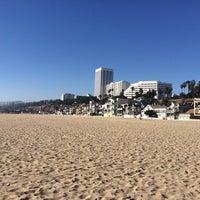 Photo taken at Santa Monica Beach Parking 1N by Aws A. on 10/5/2014