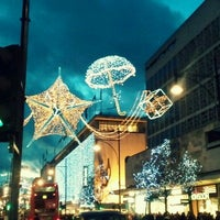 Photo taken at Oxford Circus by Erica B. on 12/9/2012