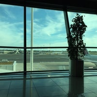 Photo taken at Gate G1 by Erica B. on 9/26/2015