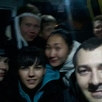 Photo taken at Маршрутка № К-600 by Элечка Х. on 10/14/2014