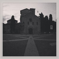 Photo taken at Piazza Santo Stefano by Denise E. on 6/6/2013