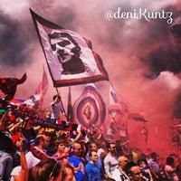 Photo taken at Stadio Renato Dall'Ara by Denise E. on 5/19/2013