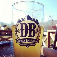 Photo taken at Devils Backbone Brewing Company by Jeremy G. on 12/1/2012