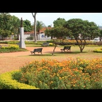 Photo taken at Praça Padre Romão Cícero (Praça do Violeiro) by Liliene G. on 4/19/2014