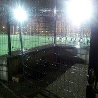 Photo taken at Polideportivo Federico García Lorca by Azahara S. on 11/26/2012