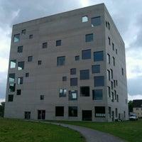 Photo taken at Folkwang-Universität - SANAA-Gebäude by Erling W. on 7/13/2013