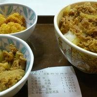 Photo taken at 食其家 | Sukiya | すき家 by Toshikatsu T. on 4/12/2013