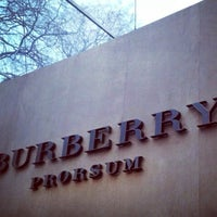 Photo taken at Burberry by Brent B. on 1/8/2014