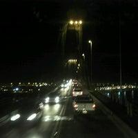Photo taken at Puente General Belgrano by Ariel B. on 9/27/2012