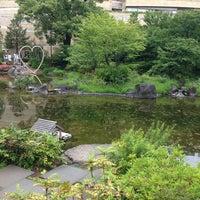 Photo taken at Mohri Garden by Sayoko T. on 5/19/2013