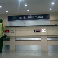 Photo taken at Bank Muamalat by I Made B. on 12/9/2013