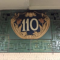 Photo taken at MTA Subway - Cathedral Pkwy/110th St (1) by Jim J. on 5/12/2016