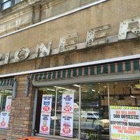 Photo taken at Pioneer Supermarket by Jim J. on 7/25/2016