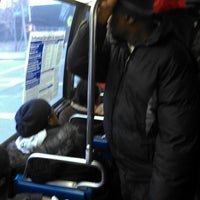 Photo taken at MTA Bus - B44/B44 +SBS - Nostrand Ave & Fulton St by King👑💵 on 3/15/2013