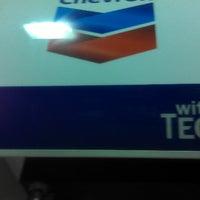 Photo taken at Chevron by King👑💵 on 3/24/2013