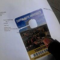 Photo taken at Coppin State University - Talon Center by King👑💵 on 2/25/2013