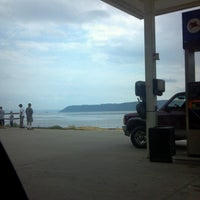 Photo taken at Mobil by Apes B. on 8/26/2012