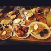 Photo taken at Roscoe's House of Chicken and Waffles by Ted M. on 6/19/2012