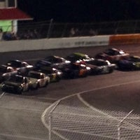 Photo taken at Orange County Speedway by Fred L. on 10/20/2012