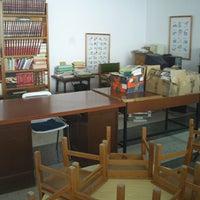 Photo taken at Biblioteca Pública Municipal Antonia del Barco by Patricia P. on 1/8/2014
