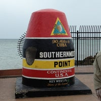 Photo taken at Southernmost Point Buoy by Mark K. on 1/27/2013