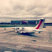 Photo taken at London City Airport (LCY) by ike R. on 5/10/2013