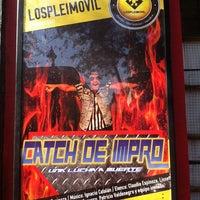 Photo taken at Teatro Club de Impro Lospleimovil by Pablo B. on 1/10/2014
