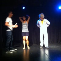 Photo taken at Teatro Club de Impro Lospleimovil by Pablo B. on 1/7/2014