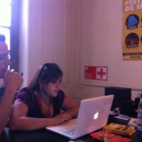 Photo taken at Teatro Club de Impro Lospleimovil by Pablo B. on 1/9/2014