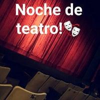 Photo taken at Teatro Lucho Barahona by Alejandro Z. on 8/3/2015