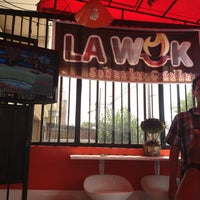 Photo taken at La Wok Salteados Criollos by Rony L. on 3/17/2013