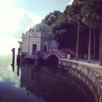 Photo taken at Vizcaya Museum and Gardens by sheri k. on 12/9/2012
