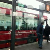 Photo taken at Metrobús Buenavista L4 by Arturo S. on 3/15/2013