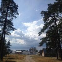 Photo taken at Коневецкий монастырь by Alexandr V. on 8/15/2014
