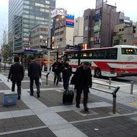 Photo taken at 品川駅港南口バスターミナル by BJ Y. S. on 11/30/2012