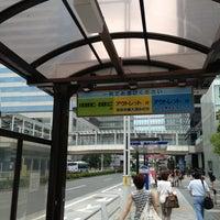 Photo taken at 品川駅港南口バスターミナル by BJ Y. S. on 8/5/2013