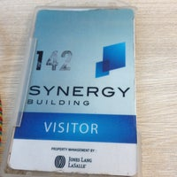 Photo taken at Synergy Building by Lena B. on 6/13/2015