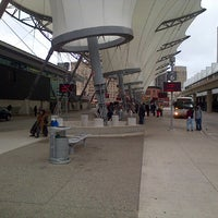 Photo taken at Rosa Parks Transit Center by GEMINI B. on 10/30/2012