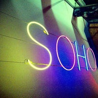 Photo taken at Soho Theatre Bar by Paul J. on 8/16/2014