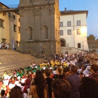 Photo taken at Piazza Del Santuario by Daniele F. on 6/27/2014