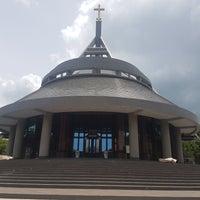Photo taken at St.Theresa Church by Asawanee P. on 7/1/2017