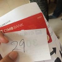 Photo taken at CIMB Bank by Ftn J. on 12/17/2016