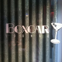 Photo taken at Boxcar Lounge by Brian M. on 4/26/2013
